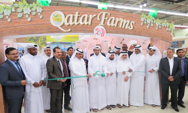 Qatar Farms programme launched in four supermarkets - Innaguration