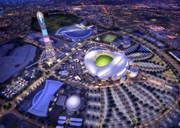 2022 FIFA World Cup in Qatar - Dates Announced. The Khalifa International Stadium in Doha is Qatar's first completed venue for the World Cup 2022 - QatarIndians.com