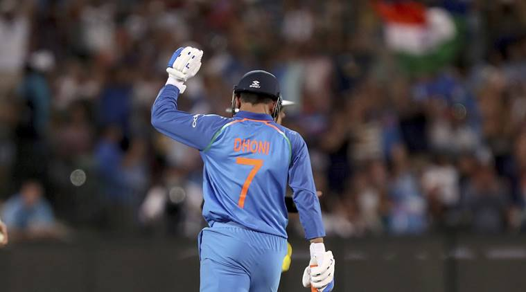 Dhoni anchored India to win the first ever ODI series victory in