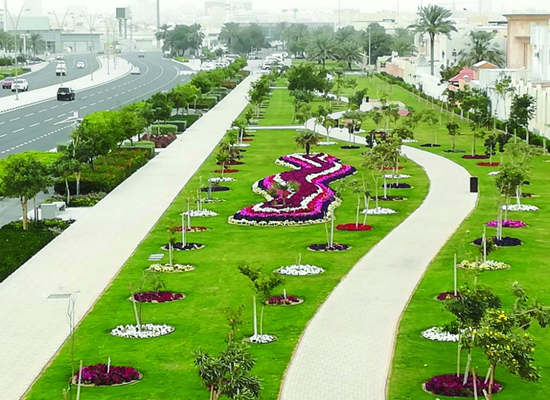 Al Hilal linear park has opened - A place for citizens and residents to exercise sports - QatarIndians.com