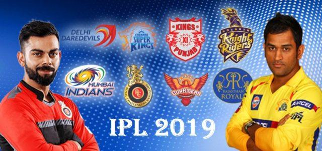 IPL Schedule 2019 - VIVO IPL 2019 Teams and Schedule - QatarIndians.com