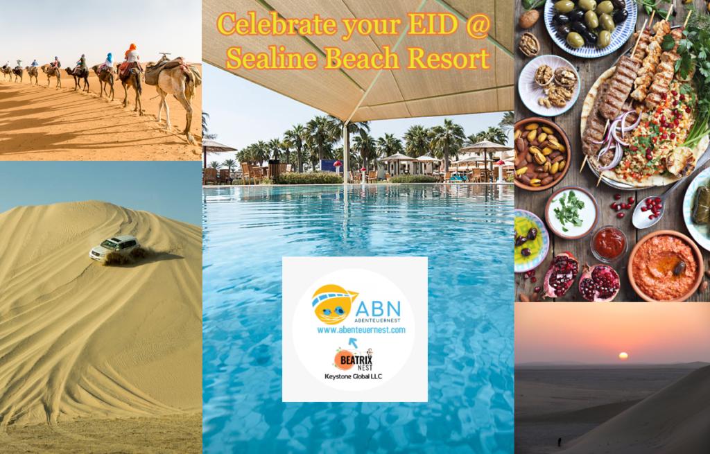 Celebrate your EID at Sealine Beach Resort - Lavish Dinner, Dune Bashing Desert Safari, Free Pickup and Drop, Sealine Resort Pool and Beach Access - QatarIndians.com