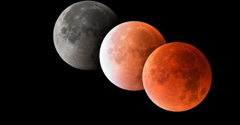 Qatar residents get rare chance to witness the partial lunar eclipse - QatarIndians.com