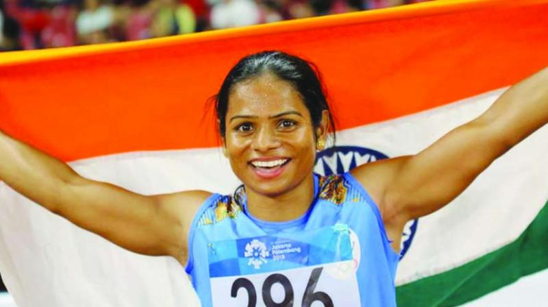 Dutee Chand - The first Indian woman athlete to clinch gold in 100 m global event - QatarIndians.com