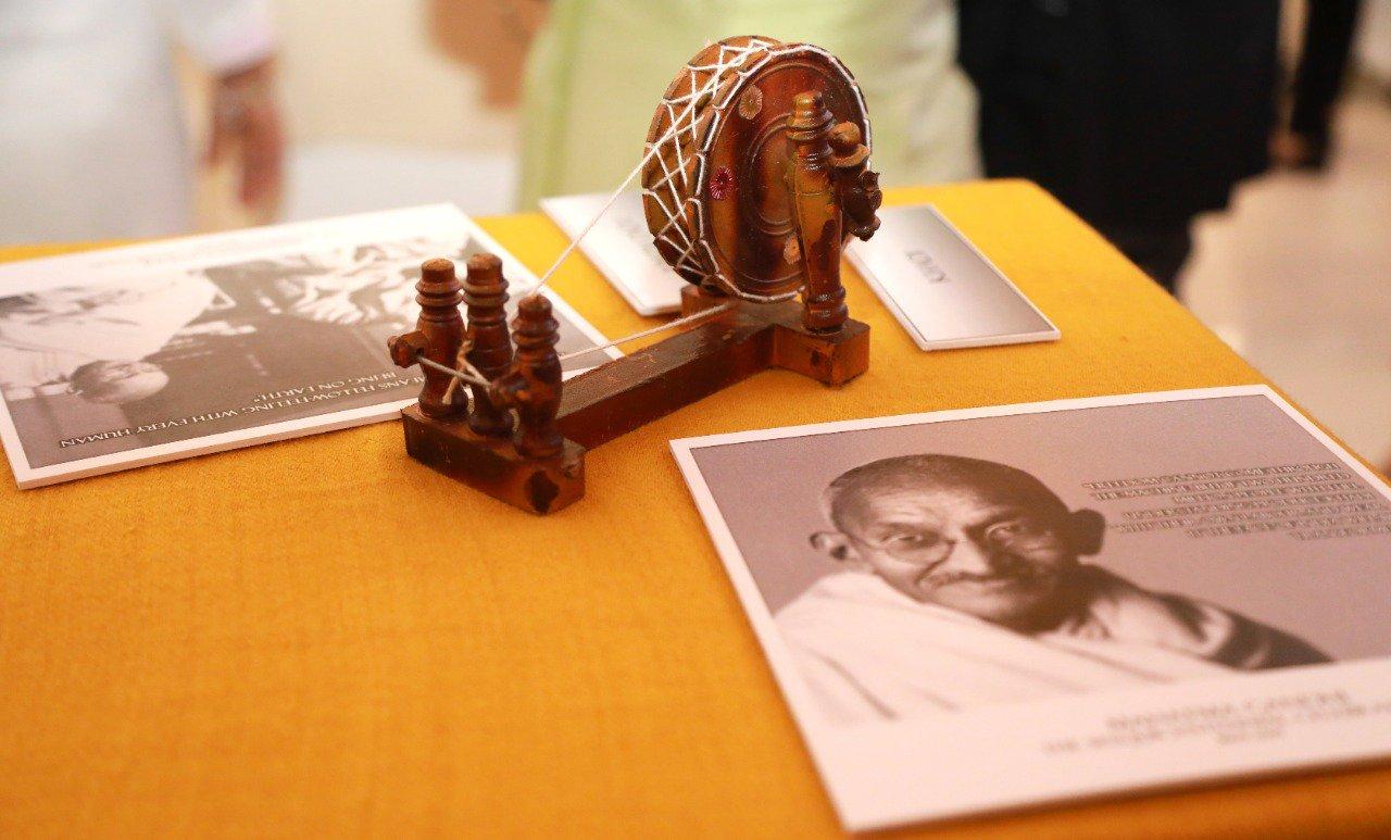 Mahatma Gandhi: Indians in Qatar celebrate 150th birth anniversary of Mahatma Gandhi - image source: https://twitter.com/IndEmbDoha