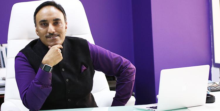 Dr Tejinder Singh - a ' serial entrepreneur'