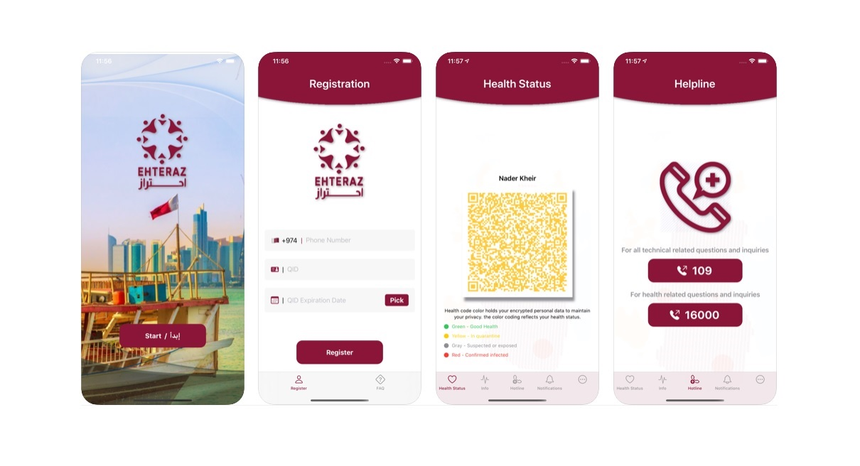 Ehteraz App to combat COVID-19 launched in Qatar | Download from Apple App Store and soon will be available on Android Play Store as well