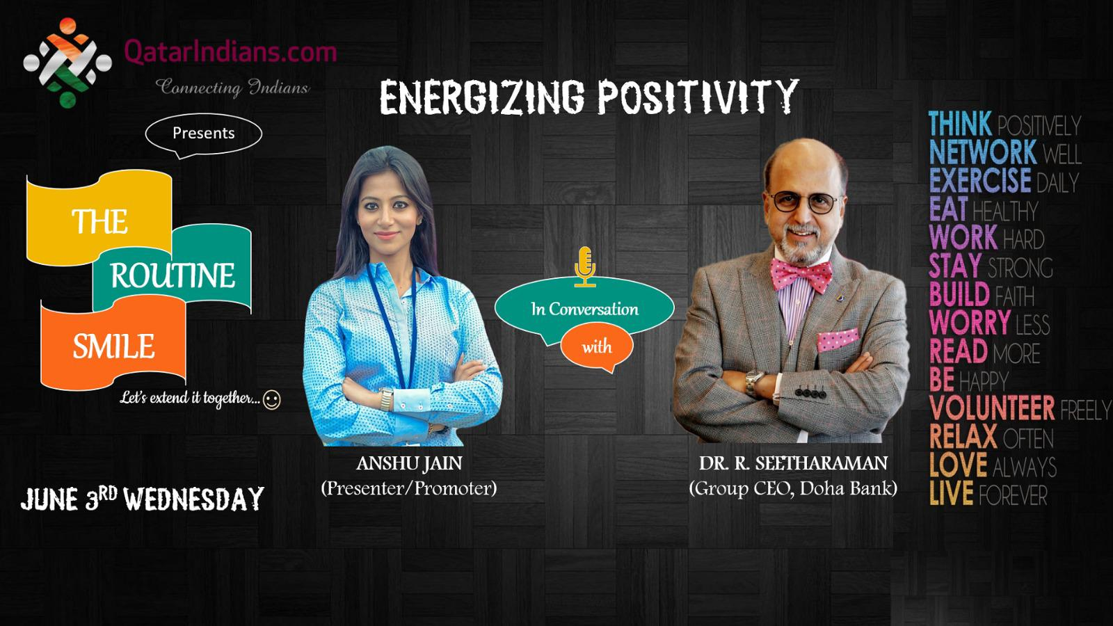 """The Routine Smile"" - ""Energizing Positivity"" 