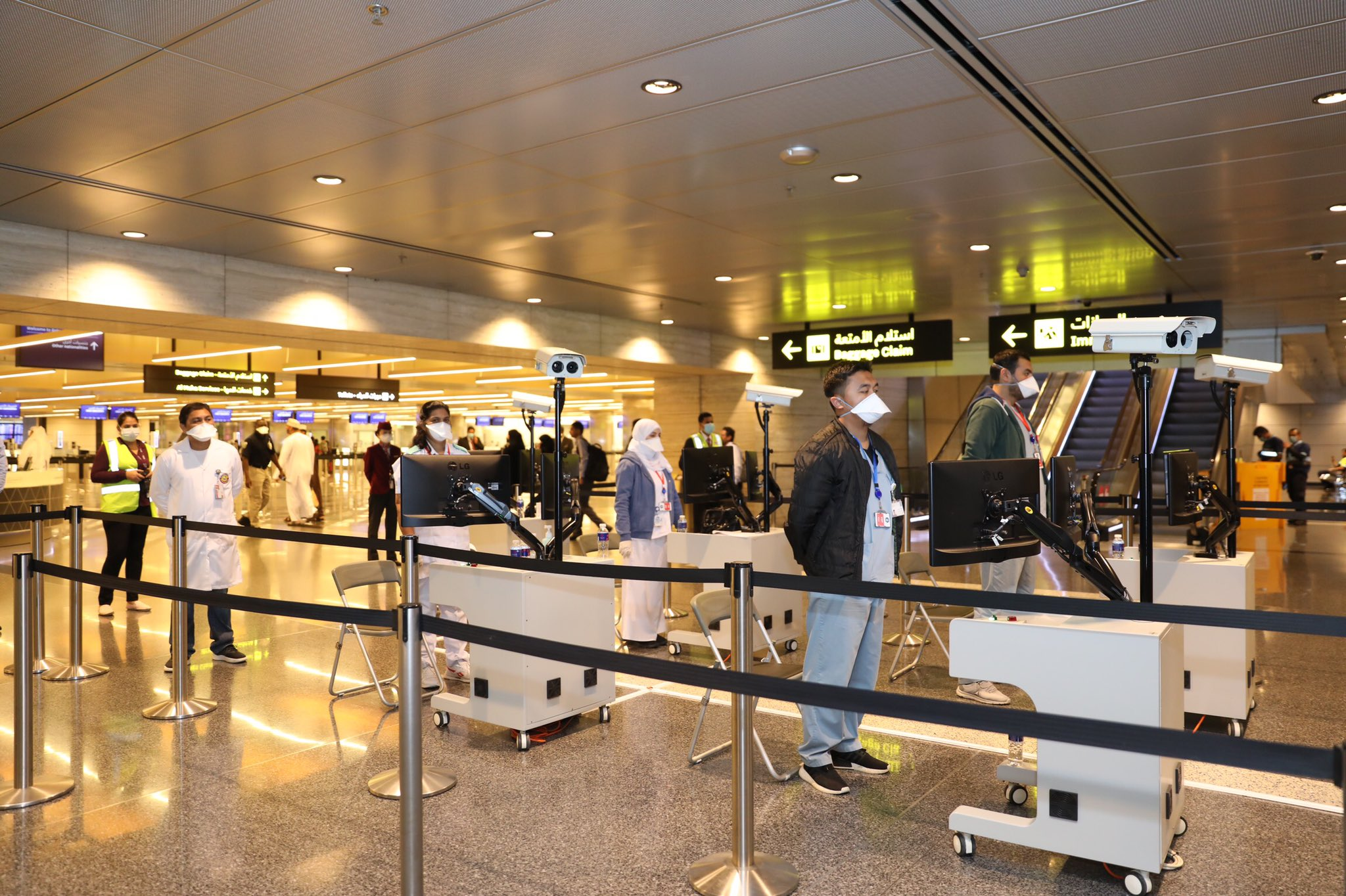 Hamad International Airport (HIA) implements newly modified procedures to enter Qatar based on the categorization of arriving passengers | QatarIndians.com