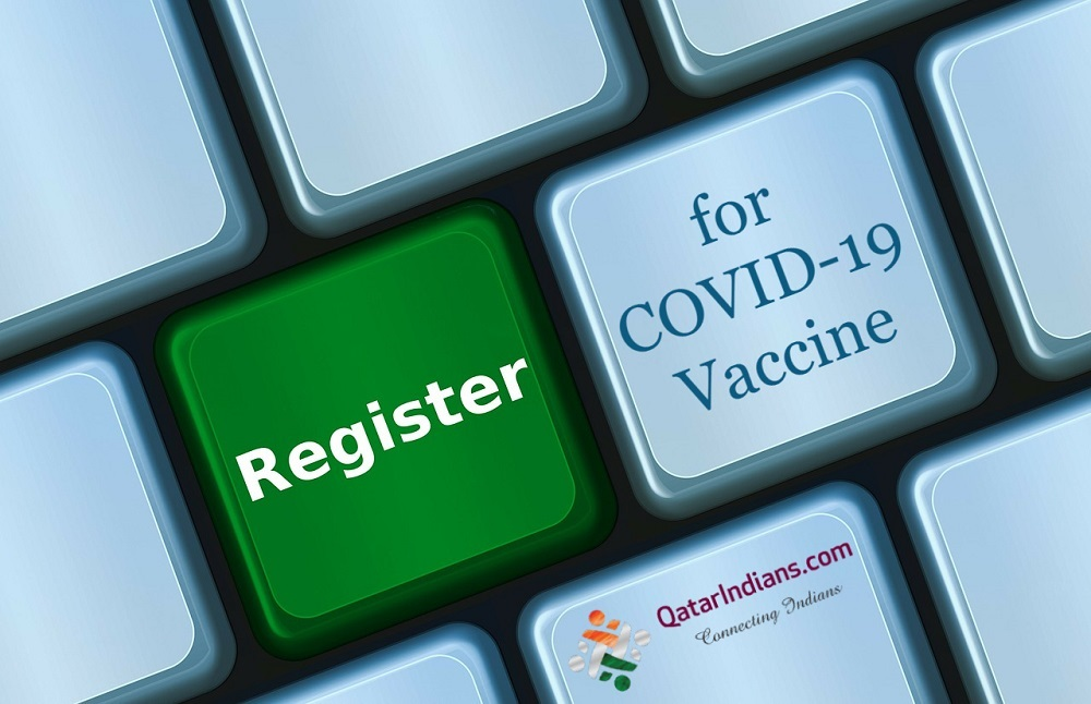 Registration for COVID-19 Vaccine. How to register your interest to take the for the COVID-19 vaccine in Qatar. Where to register for the COVID-19 vaccine.